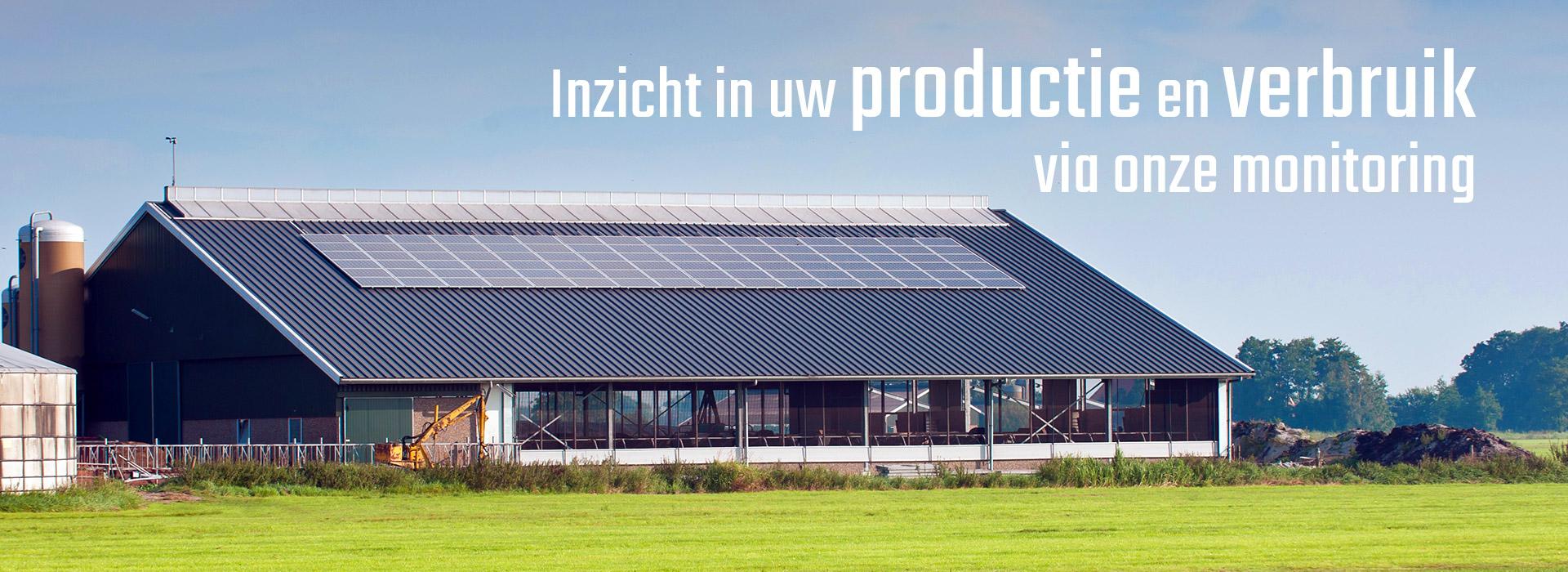 Regio Duurzaam inzicht in productie en gebruik via monitoring